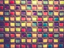 Blocs en verre décoratifs Photos libres de droits