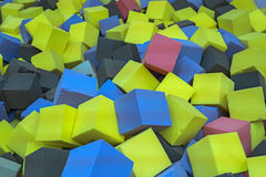 Blocs mous Images stock