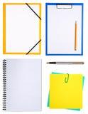 blocs-notes photographie stock libre de droits
