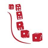 Blocs pointillés par modèle. Image stock