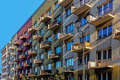 Blocs résidentiels ordinaires Photo stock
