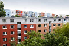 Blocs colorés de Berlin est Image libre de droits