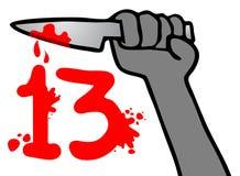 Blod 13 Royaltyfria Foton