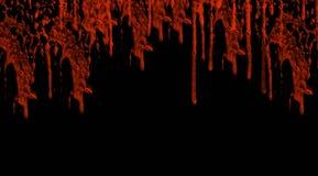 Blod del goteo Fotos de archivo libres de regalías