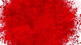 Blod plaskar lager videofilmer