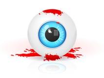 Bloda ner ögat stock illustrationer