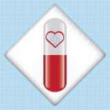 Bloddonationvektor. Arkivbild