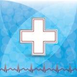 Bloddonationvektor. Arkivbilder