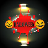 Bloddy halloween design Royalty Free Stock Photo