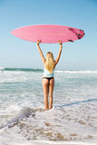 Blode surfer Girl Stock Images