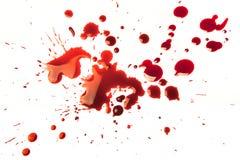 blodfläckar Royaltyfria Foton