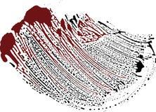 blodgrungefläck Arkivfoto