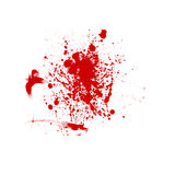 blodig bakgrund Arkivfoton