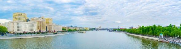 blodig flod vorobievy russia för moscow moskvapanorama Royaltyfri Fotografi
