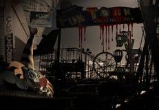 blodig karneval Arkivfoto