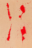 blodpapp Royaltyfri Bild