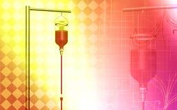 blodtransfusion Arkivbilder
