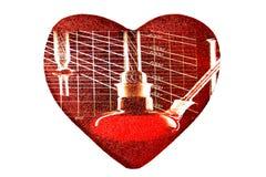blodundersökningshälsa Arkivfoto