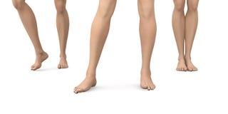 Bloße Füße Lizenzfreies Stockbild