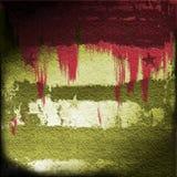Bloed op Militaire Grunge Royalty-vrije Stock Fotografie