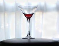 Bloed rode martini Stock Foto's