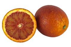 Bloed rode sinaasappelen Royalty-vrije Stock Foto