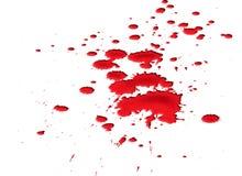 Bloed splat Royalty-vrije Stock Foto's