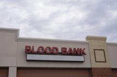 Bloedbank stock foto's