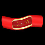 Bloedcoagulatie stock afbeelding