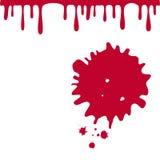Bloeddalingen Royalty-vrije Stock Foto's