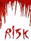 Bloedig Risico Royalty-vrije Stock Foto's