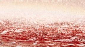 Bloedig water royalty-vrije stock afbeeldingen
