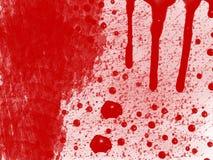 Bloedige achtergrond Stock Afbeeldingen