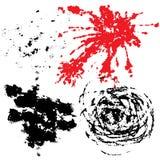 Bloedige grunge royalty-vrije illustratie