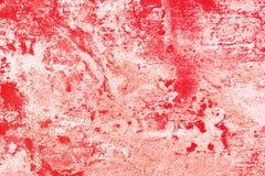 Bloedige grungeachtergrond Stock Afbeelding