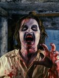 Bloedige zombie Stock Afbeelding