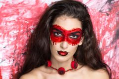 Bloedmasker royalty-vrije stock fotografie