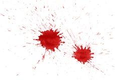 Bloedvlekken royalty-vrije illustratie