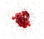 Bloedvlekken stock afbeeldingen