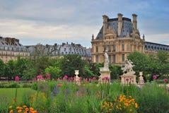 Bloeiend Parijs Stock Fotografie