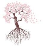 Bloeiende boom Stock Afbeeldingen