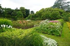 Bloeiende formele tuinen in Noord-Ierland Royalty-vrije Stock Foto