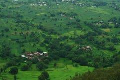 Bloeiende Indische dorp-Satara Stock Fotografie