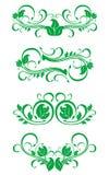 Bloeit decoratie Stock Foto's