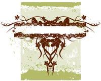 Bloeit grunge banner Royalty-vrije Stock Fotografie