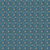 Bloeit seamles patroon Royalty-vrije Stock Afbeelding