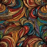 Bloem één pagina naadloos patroon stock illustratie