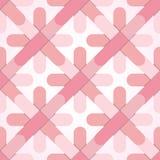 Bloem abstract naadloos patroon Royalty-vrije Stock Afbeeldingen