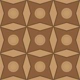 Bloem abstract naadloos patroon Royalty-vrije Stock Foto's