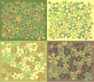 Bloem-camouflage Stock Afbeelding